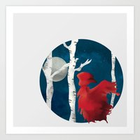 The Name's Red Art Print