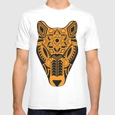 jaguar SMALL White Mens Fitted Tee