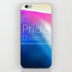 Pride Divisions iPhone & iPod Skin