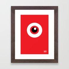 EYE SEE Framed Art Print