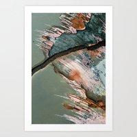 Corrosion Colors II Art Print