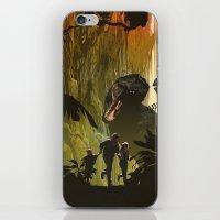 Dinosaur Poster iPhone & iPod Skin