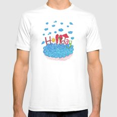 Holiday Mens Fitted Tee White SMALL