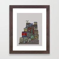 Townscape Framed Art Print