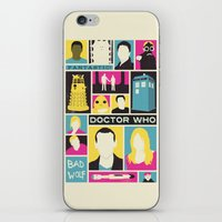Doctor Who - The Ninth D… iPhone & iPod Skin