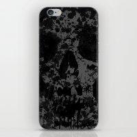 Skull Splash iPhone & iPod Skin
