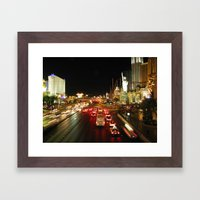 Las Vegas Strip Framed Art Print