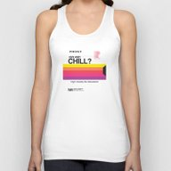 VHS And Chill Unisex Tank Top