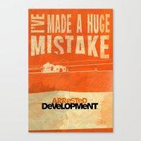I've Made A HUGE Mistake… Canvas Print