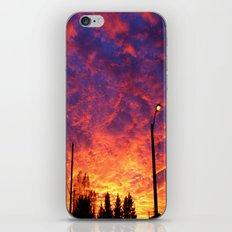Street lamp glow  iPhone & iPod Skin