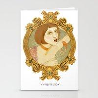 Smoked Fish (Anniestrati… Stationery Cards