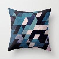 blux redux Throw Pillow