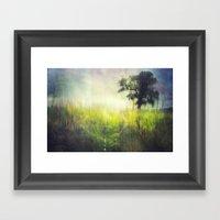 Connie's Backyard Framed Art Print
