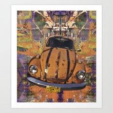 VW ~Bug power Art Print