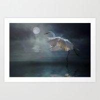 Moonlight Rhapsody Art Print