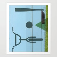 Lawn Study 2 Art Print