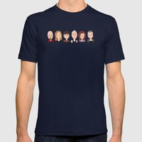 Breaking Bad Family Port… Mens Fitted Tee Navy SMALL