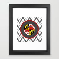 MD LAW Framed Art Print