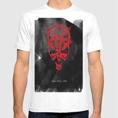 The Phantom Menace Mens Fitted Tee SMALL White