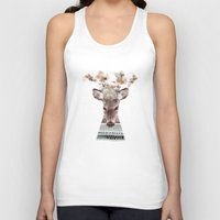 in nature deer Unisex Tank Top