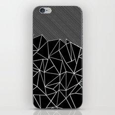 Ab Lines 45 Black iPhone & iPod Skin