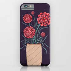 Red Carnations iPhone 6 Slim Case