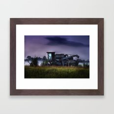 Cotton pickin' Framed Art Print