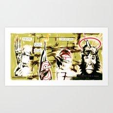 Monkey Gone to Heaven Art Print