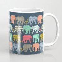 Baby Elephants And Flami… Mug