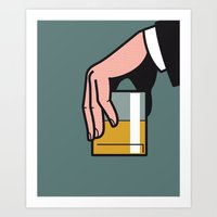 Pop Icon - Madmen 2 Art Print