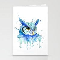 Color Hedwig  Stationery Cards