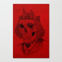 untouchable city Canvas Print