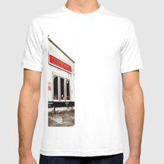 Tacoma V-Twin White Mens Fitted Tee SMALL