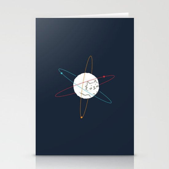 Cat-ion Stationery Card
