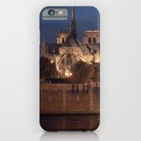 Paris By Night: Notre Da… iPhone 6 Slim Case