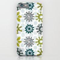 iPhone & iPod Case featuring Spiro Petals by HarrietAliceFox