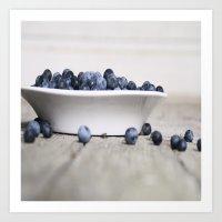 Blueberry Hill Art Print