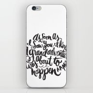 iPhone & iPod Skin featuring Grand Adventure by Matthew Taylor Wilso…