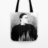 DARK COMEDIANS: Tracy Morgan Tote Bag