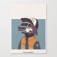 2013 - CALENDARIO CROCE … Canvas Print