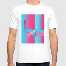 Goddess Gaze - G Zine for Society6 SMALL Mens Fitted Tee White