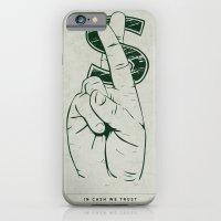 In Cash We Trust. iPhone 6 Slim Case