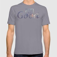 Feel Good | Summer Mens Fitted Tee Slate SMALL