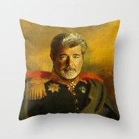George Lucas - Replacefa… Throw Pillow