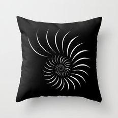 Shell (White) Throw Pillow