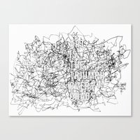 Triumph Over Chaos. Canvas Print