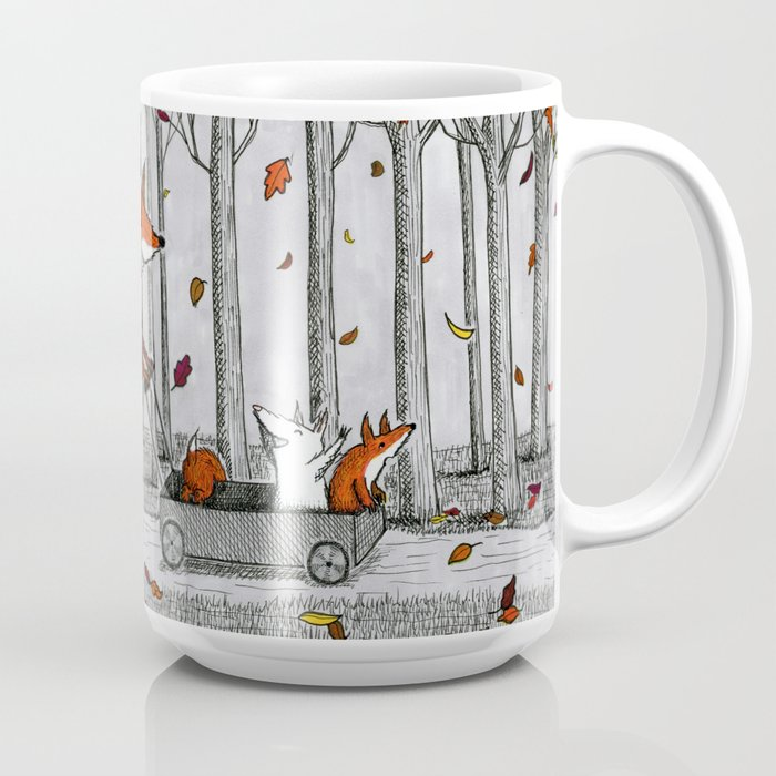 Fox Family Mug