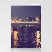 Paris by Night II Stationery Cards