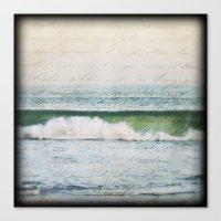 Seaside Love Canvas Print