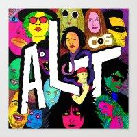 ALT1 by Steven Fiche Canvas Print